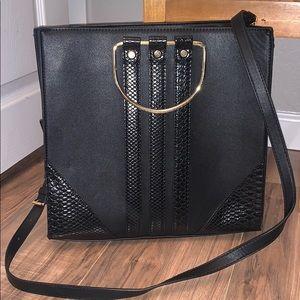 Neiman Marcus handbags - black large square